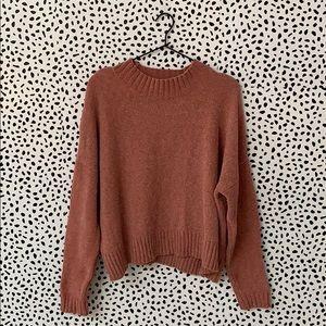 BP Chenile Pink Sweater